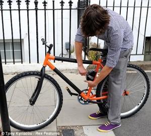 bendy bike, folding bike