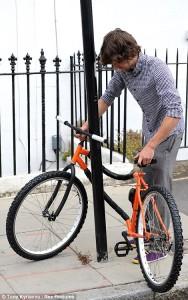 wrapping bike, bendy bike, bicycle