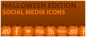 Social Media Halloween Icons