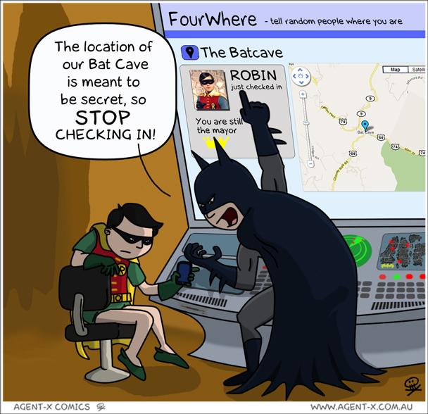 batman hates social media
